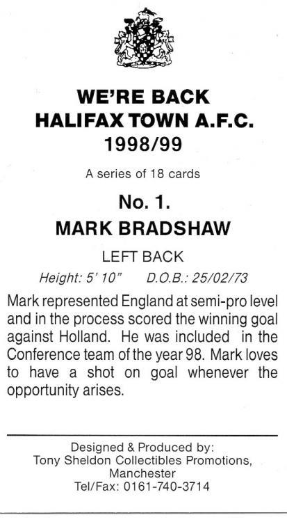 1998-99 (Card 1) Mark Bradshaw 2.jpg