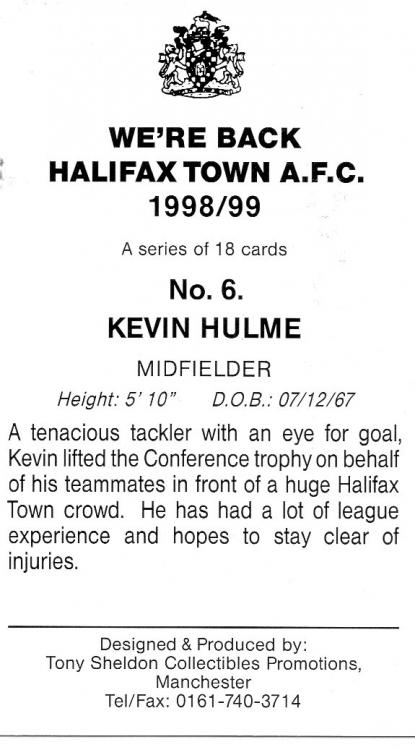1998-99 (Card 6) Kevin Hulme 2.jpg