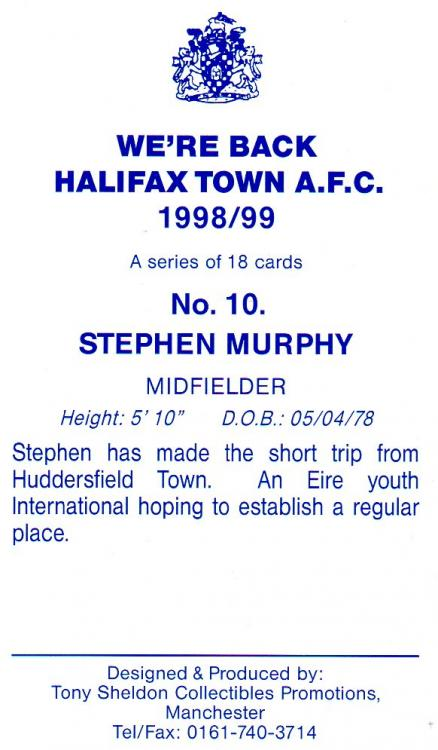 1998-99 (Card 10) Stephen Murphy 2.jpg