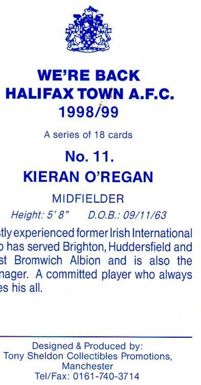 1998-99 (Card 11) Kieran O'Regan 2.jpg
