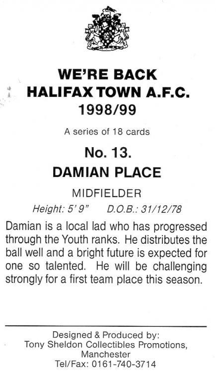1998-99 (Card 13) Damian Place 2.jpg